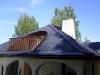 ruiskumaalaus muovipinnoitteinen katto