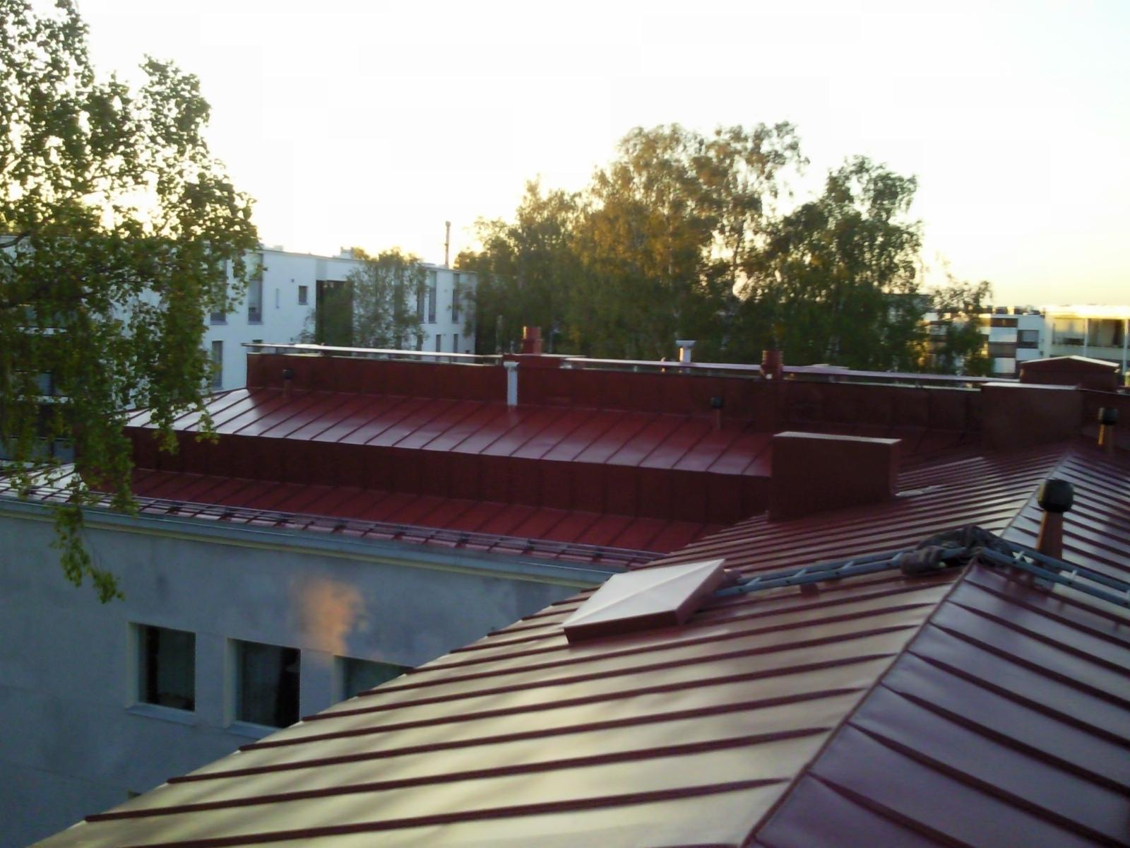 Kattotyöt helsinki vantaa espoo pelkikaton maalaus konesaumakatto katto